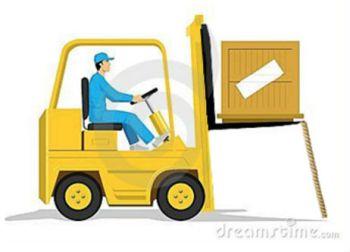 Forklift end correct